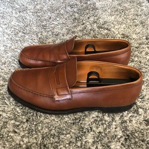 J.M. Weston Penny Loafers Made In France US 10